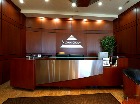 Main Reception Desk at 4646 Dufferin St.