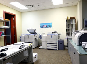 Our North York office space tenants have access to printers, copiers, and more.