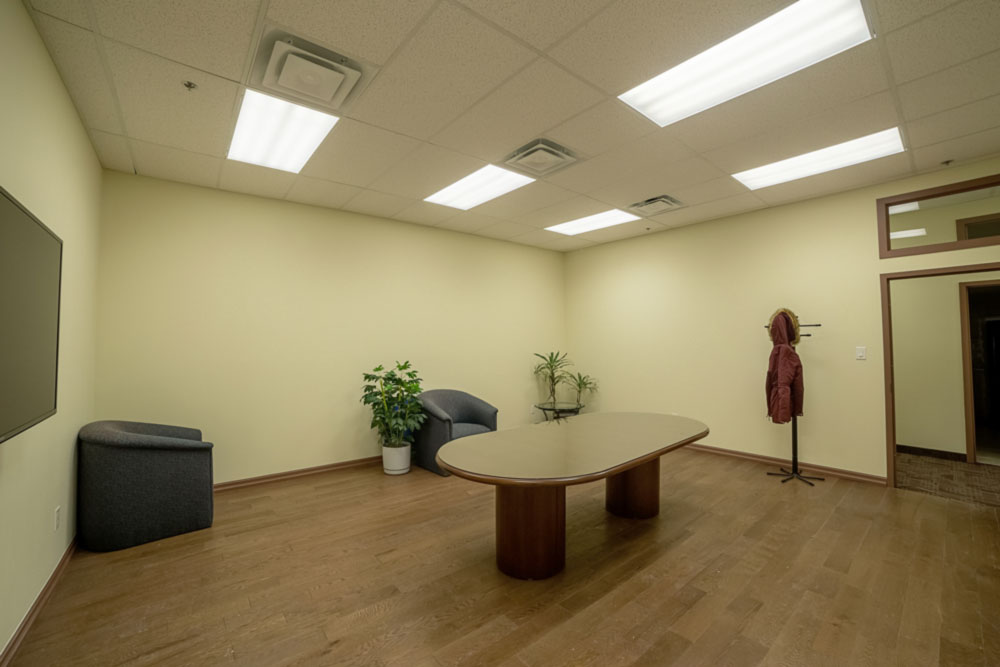North York office space lounge